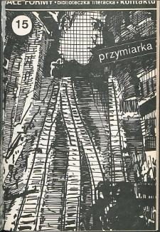 Kontakt : Wojewódzki Informator Kulturalny, 1988, nr 6, dod. Małe Formy nr 15