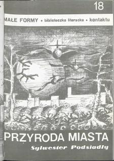Kontakt : Wojewódzki Informator Kulturalny, 1989, nr 3, dod. Małe Formy nr 18