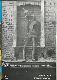 Kontakt : Wojewódzki Informator Kulturalny, 1989, nr 12, dod. Małe Formy nr 20