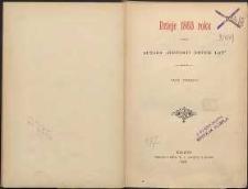Dzieje 1863 roku T. 3