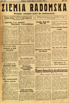 Ziemia Radomska, 1931, R. 4, nr 180