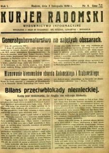 Kurier Radomski, 1939, R. 1, nr 8