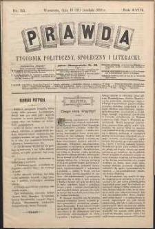 Prawda : tygodnik polityczny, społeczny i literacki, 1898, R. 18, nr 53