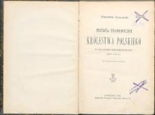 Rozwój ekonomiczny Królestwa Polskiego w ostatnim trzydziestoleciu : (1870-1900)