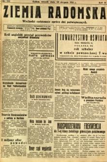 Ziemia Radomska, 1931, R. 4, nr 193