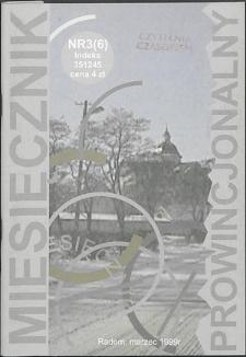 Miesięcznik Prowincjonalny, 1999, R. 2, nr 3