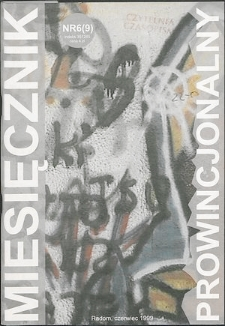 Miesięcznik Prowincjonalny, 1999, R. 2, nr 6