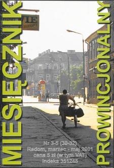 Miesięcznik Prowincjonalny, 2001, R. 4, nr 3/5