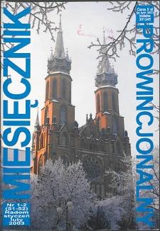 Miesięcznik Prowincjonalny, 2003, R. 6, nr 1/2