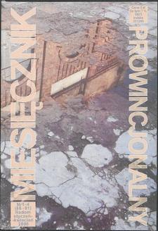 Miesięcznik Prowincjonalny, 2006, R. 8, nr 1/4