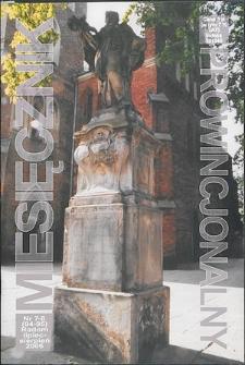 Miesięcznik Prowincjonalny, 2006, R. 8, nr 7/8