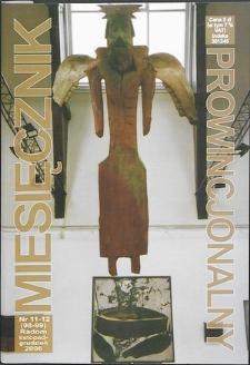 Miesięcznik Prowincjonalny, 2006, R. 8, nr 11/12