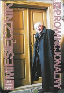 Miesięcznik Prowincjonalny, 2007, R. 9, nr 2