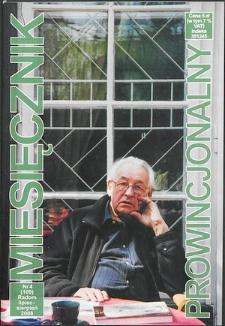 Miesięcznik Prowincjonalny, 2008, R. 10, nr 4