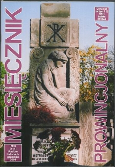 Miesięcznik Prowincjonalny, 2008, R. 10, nr 6