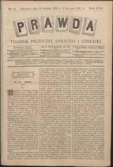 Prawda : tygodnik polityczny, społeczny i literacki, 1897, R. 17, nr 2
