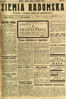 Ziemia Radomska, 1931, R. 4, nr 203