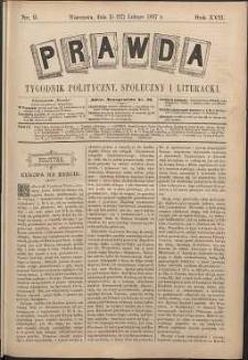 Prawda : tygodnik polityczny, społeczny i literacki, 1897, R. 17, nr 9