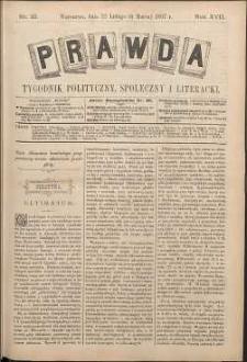 Prawda : tygodnik polityczny, społeczny i literacki, 1897, R. 17, nr 10