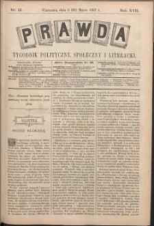 Prawda : tygodnik polityczny, społeczny i literacki, 1897, R. 17, nr 12