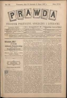 Prawda : tygodnik polityczny, społeczny i literacki, 1897, R. 17, nr 19