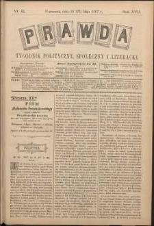 Prawda : tygodnik polityczny, społeczny i literacki, 1897, R. 17, nr 21