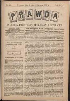 Prawda : tygodnik polityczny, społeczny i literacki, 1897, R. 17, nr 24
