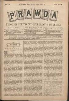 Prawda : tygodnik polityczny, społeczny i literacki, 1897, R. 17, nr 31