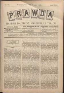 Prawda : tygodnik polityczny, społeczny i literacki, 1897, R. 17, nr 34