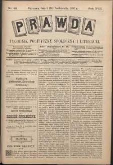 Prawda : tygodnik polityczny, społeczny i literacki, 1897, R. 17, nr 42