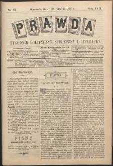 Prawda : tygodnik polityczny, społeczny i literacki, 1897, R. 17, nr 51