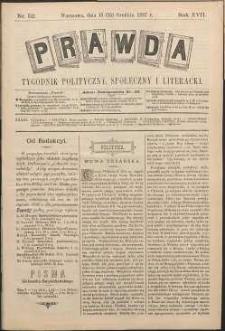 Prawda : tygodnik polityczny, społeczny i literacki, 1897, R. 17, nr 52