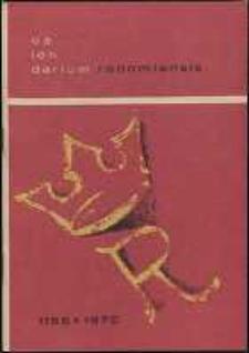 Calendarium Radomiense 1155-1970