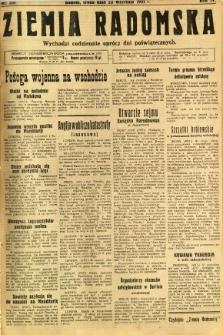Ziemia Radomska, 1931, R. 4, nr 218