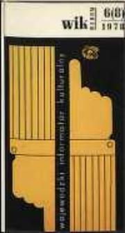 Wojewódzki Informator Kulturalny Radom, 1978, nr 6