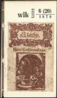 Wojewódzki Informator Kulturalny Radom, 1979, nr 6