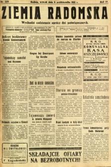 Ziemia Radomska, 1931, R. 4, nr 229