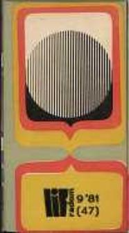 Wojewódzki Informator Kulturalny Radom, 1981, nr 9