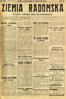 Ziemia Radomska, 1931, R. 4, nr 234