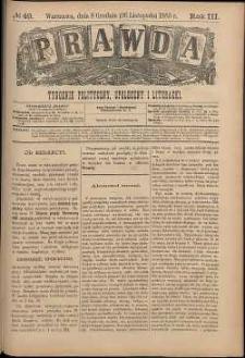 Prawda : tygodnik polityczny, społeczny i literacki, 1883, R. 3, nr 49