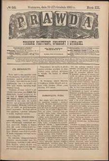 Prawda : tygodnik polityczny, społeczny i literacki, 1883, R. 3, nr 52