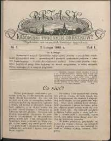 Brzask : Radomski Tygodnik Obrazkowy, 1916, R. 1, nr 5