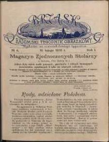 Brzask : Radomski Tygodnik Obrazkowy, 1916, R. 1, nr 6