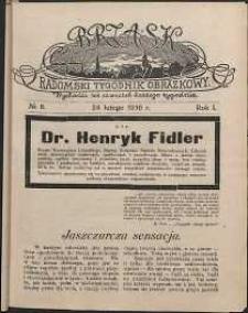 Brzask : Radomski Tygodnik Obrazkowy, 1916, R. 1, nr 8