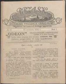Brzask : Radomski Tygodnik Obrazkowy, 1916, R. 1, nr 17