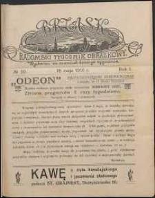Brzask : Radomski Tygodnik Obrazkowy, 1916, R. 1, nr 20