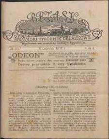 Brzask : Radomski Tygodnik Obrazkowy, 1916, R. 1, nr 23