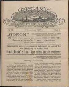 Brzask : Radomski Tygodnik Obrazkowy, 1916, R. 1, nr 25