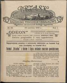 Brzask : Radomski Tygodnik Obrazkowy, 1916, R. 1, nr 26