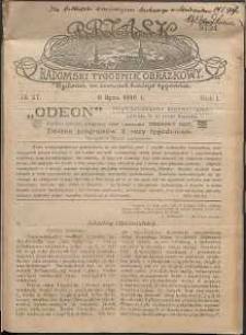 Brzask : Radomski Tygodnik Obrazkowy, 1916, R. 1, nr 27
